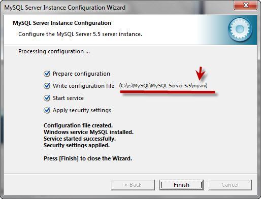 Прикрепленное изображение: Zend Server CE  Установка и настройка  MySQL -17.jpg