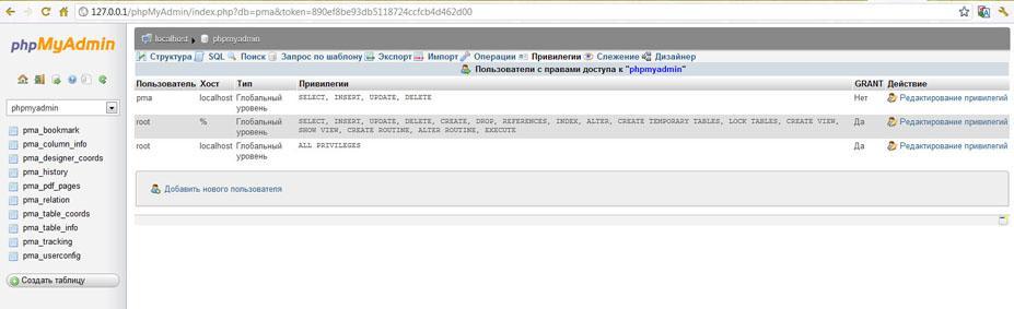Прикрепленное изображение: установки  и настройки  phpMyAdmin в Zend Server CE-13.jpg