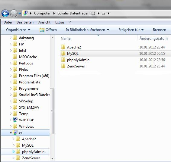 Прикрепленное изображение: Zend Server CE  Установка и настройка  MySQL.jpg