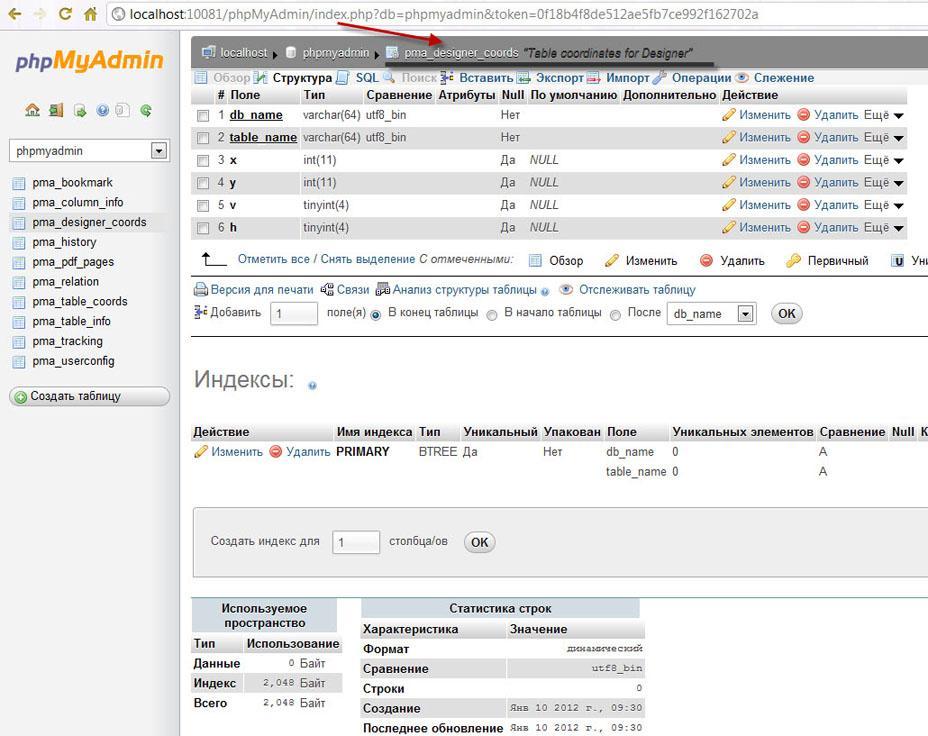 Прикрепленное изображение: установки  и настройки  phpMyAdmin в Zend Server CE-18.jpg