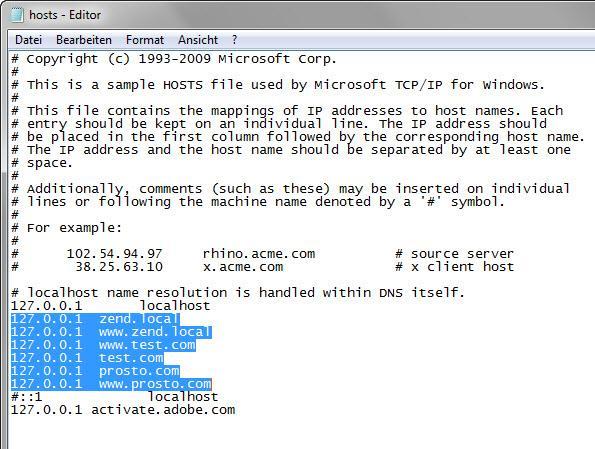 Прикрепленное изображение: Прописать следующие строки в (hosts) 1.jpg