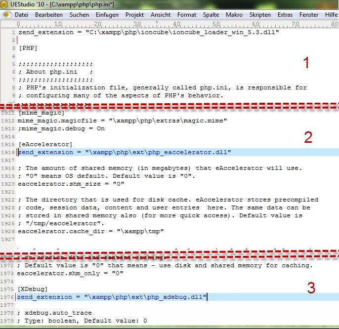 Прикрепленное изображение: ionCube для PHP. на xampp.jpg
