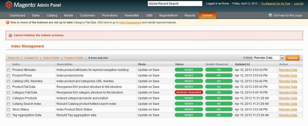Прикрепленное изображение: Magento error screen.jpg